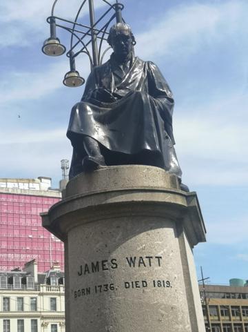 James Watt Stature, George Square